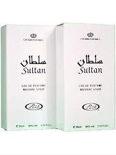 Sultan 35ml Oriental Woody White Musk Perfume Spray by Al Rehab (Pack of 2)