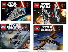 4x LEGO Star Wars Polybags 2016 Episode 7 30276 30277 30278 30279
