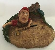 Collectable Sand Trap Figure by Doug Harris Exclusively made  by 1996 Roman Inc.