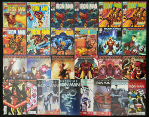 Iron Man, Legacy, Superior comic lot of 26 (Marvel 1998) 3 different series ~ NM
