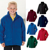 Jerzees Schoolgear Kids Reversible School Jacket R-875B-0 - Showerproof Coat