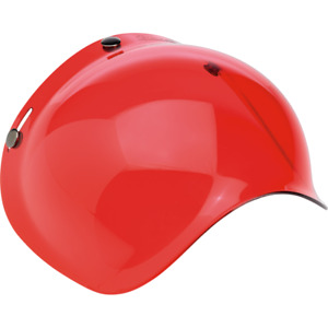 Biltwell Moto Bubble Shield Red Anti Fog fits Gringo Bonanza ++    2001-106