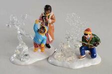 "* Dept 56 Snow Village ""Snow Carnival Ice Sculptures"", Set Of 2 - Nib *"