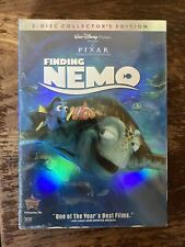 New Sealed Disney Finding Nemo Dvd 2-Disc Sealed Kid Movie Collector's Edition