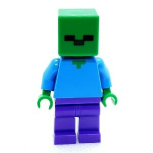 Lego Minifigure Zombie Minecraft min010