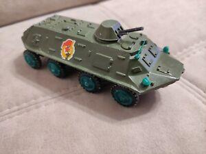 Soviet russian USSR vintage original diecast military toy BTR-60PB