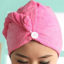 New Cotton Hair Wrap Fast Drying Dryer Towel Bath Wrap Twist Quick Dry Head
