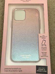 Kate Spade Protective Hardshell Case for iPhone 12 / 12 Pro -Ombre Glitter  KS23