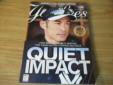 Ichiro Suzuki Cover New York Yankees Magazine v.34-4 June 2013 Pull Out Poster