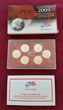 2009 US Silver Quarter Proof Set in Original Mint Packaging - FREE SHIPPING