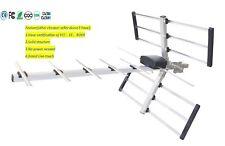 Antena TV HDTV Digital Outdoor Indoor 180 Miles Range Amplified Analog FREE SHIP