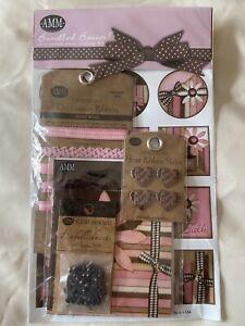 scrapbook kit baby pink