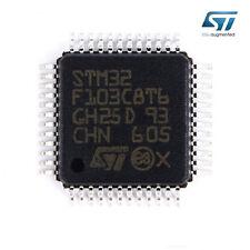 1 x ST Chip STM32F103C8T6 32-Bit Microcontroller CORTEX M3 64K LQFP48