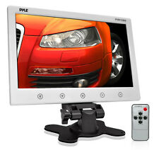 "Pyle PHR108W 10.2"" LCD Headrest Monitor w/Headrest Stand & Shroud(White)"