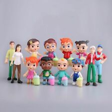 Cocomelon Family & Friend 12pcs Pack Figure Play Set Kids Toy Birthday Xmas Gift