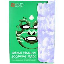 SNP Animal Dragon Soothing Mask, 10 Masks x (25 ml) Each