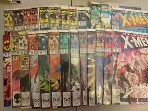 Uncanny X-Men Comics lot of 25 - Marvel X-Men Comic Books!INSTANT COLLECTION!