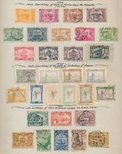 PORTUGAL STAMPS 1894 NAVIGATOR SET, 1895 ST ANTHONY TO 100r & 1898 DE GAMA
