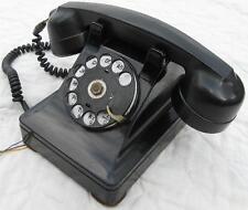 Vintage 1940 Black Telephone~Western Electric 302