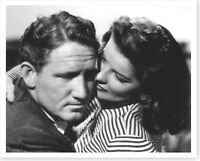 Actor Spencer Tracy & Katharine Hepburn 8 x 10 Celebrity Silver Halide Photo