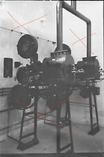 Vintage NEGATIV Foto 30iger Jahre Österreich Kino Projektor Kinemathograph 4 Stk