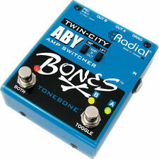 Radial Engineering Twin-City AB/Y Amp Switcher Pedal R8007115 MINT IN BOX