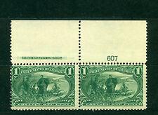 US 1898, Trans-Mississippi Expo',Plate No. 607, Superb SCV $160, Scott #285, MNH