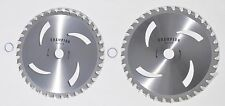 """2 pk 9"""" Carbide tipped  brush cutter blades for almost all brands of trimmers"""