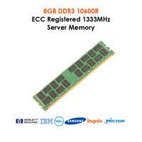 128GB 64GB 32GB DDR3 1333MHz PC3-10600R Registered ECC REG SERVER Memory RAM