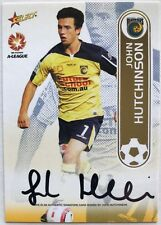 2006/07 Select A-League FFA - John Hutchinson Signature Card (A2) #243 of 550
