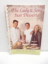 Lady And Sons Just Desserts Cookbook Paula Deen Cobblers Cakes Pudding Cookies
