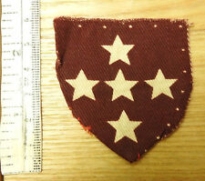 Military WW2 Southern Command R.A.M.C Shield Cloth Formation Badge (4371)