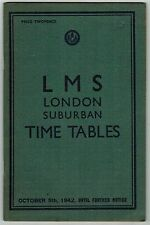 LMS Collectable Railway Public Timetables
