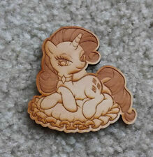 "Rarity My Little Pony MLP FIM 4"" Wood Magnet"