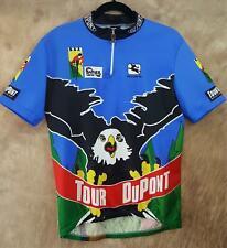 Vintage 1994 Giordana Italy Cycling Jersey Shirt Mens Xl Tour Dupont Eagle Print