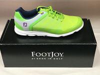 NEW FootJoy Sport SL Lime 98029 Womens Golf Shoes 6.5M Waterproof Were $155