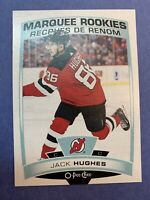 2019-20 O-Pee-Chee Marquee Rookies #611 Jack Hughes New Jersey Devils RC