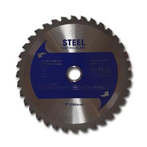 """Steel Cutting Blade 180mm (7"""") Steel Evolution Dewalt"""