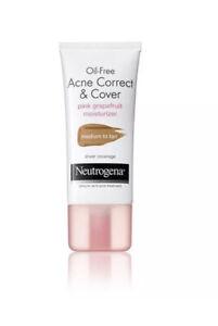 Neutrogena Oil-Free Acne Correct&Cover Moisturizer Medium To Tan