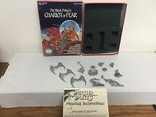Ral Partha Chariot of Fear Dungeons & Dragons miniatures Ad&D ~ Not Complete