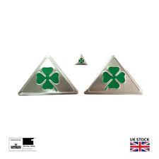 3x Alfa Romeo Quadrifoglio Cloverleaf Wing Badges And Boot Badge