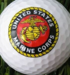 36 - 3 Dozen (Marine Corps Logo) Mint / AAAAA Nike Mix Used Golf Balls