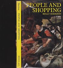 PEOPLE AND SHOPPING. By Molly Harrison- 'SHOPPING HISTORY'
