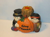 Midwest of Cannon Falls Eddie Walker Thanksgiving Pilgrim Candle Holder
