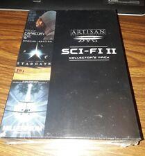 Sci-Fi Collectors Pack DVD 1999 3-Disc Set Brand New Box Set RARE OOP STARGATE!!
