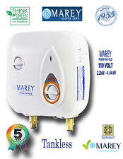 Marey Refurbished Electric Tankless Water Heater 1 POU PP110 2 GPM Best 110V
