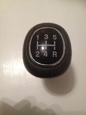 FORD GEARKNOB LEATHER AND CHROME FOCUS KA ESCORT