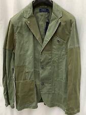 Polo Ralph Lauren patchwork blazer. 3 button.  Size large