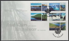 CANADA #1855a-1855e 95¢ FRESH WATERS OF CANADA FIRST DAY COVER