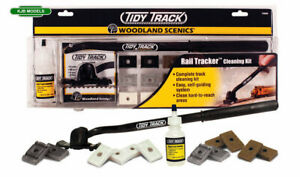 Woodland Scenics Tidy Track Rail Tracker Cleaning Kit Or Choose Accessories N OO